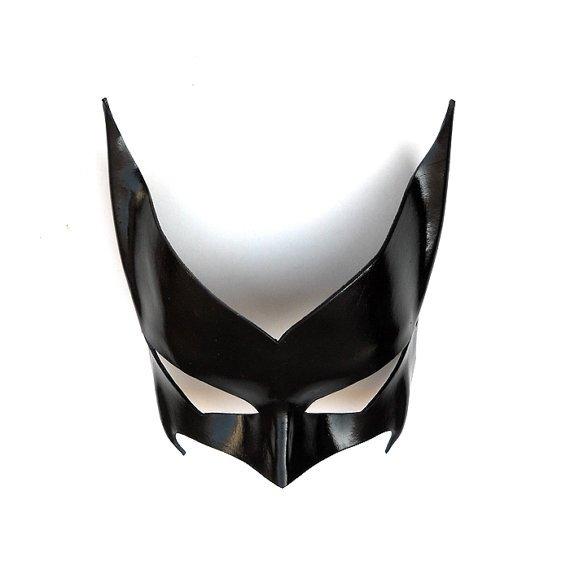 Máscara cuero Batwoman