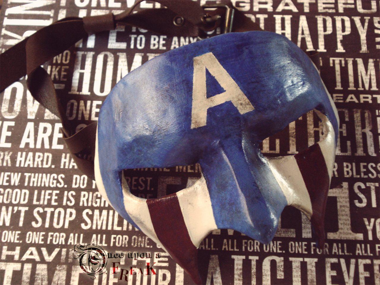 Antifaz veneciano Capitán América